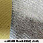 aluminize aramid kumas 900C