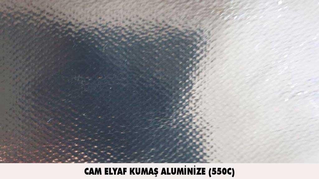cam elyaf kumas aluminize 550C
