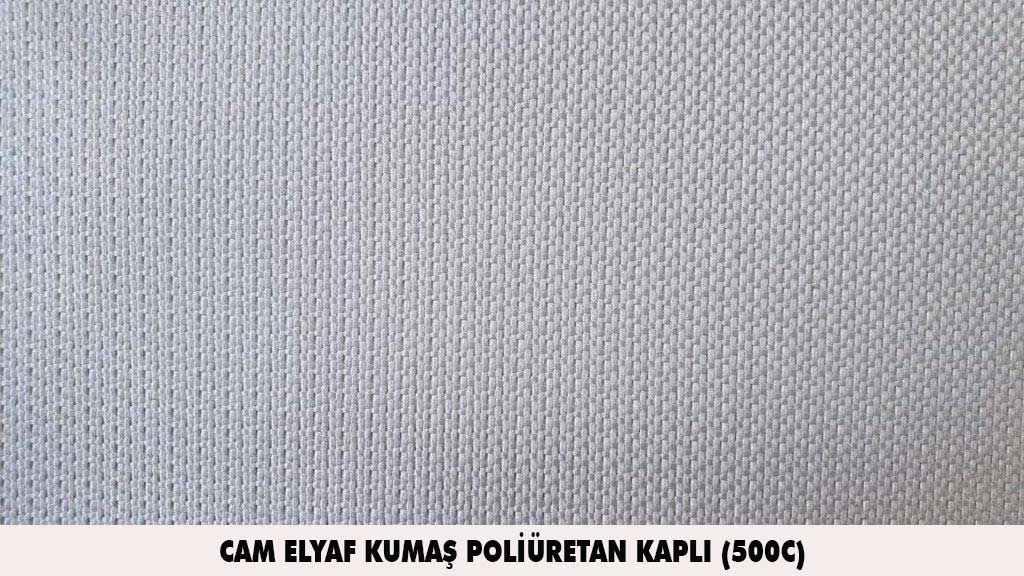 cam elyaf kumas poliuretan kapli 500C